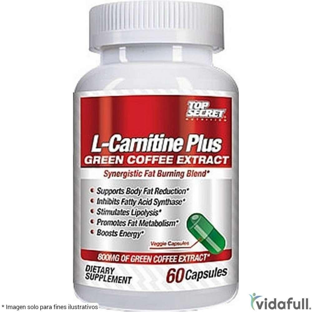 L Carnitina con extracto de Café Verde Top Secret Carnitina de Top Secret Nutrition Bajar de Peso Bien