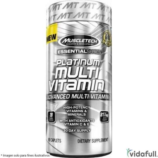 Platinum Multivitamin Muscletech