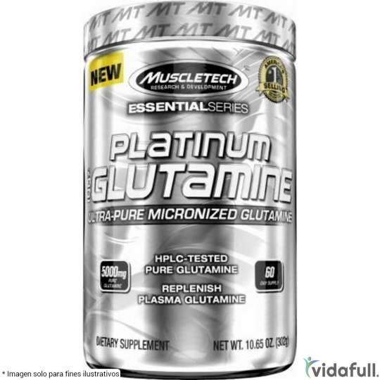 Platinum Glutamina Muscletech