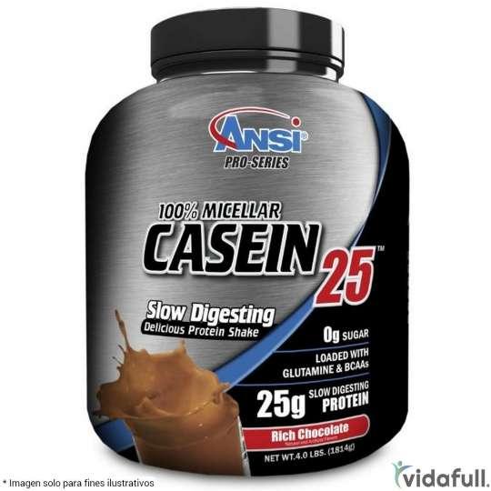 100% Micellar Casein Ansi Proteína de ANSI Nutrition Ganar musculo y marcar musculo