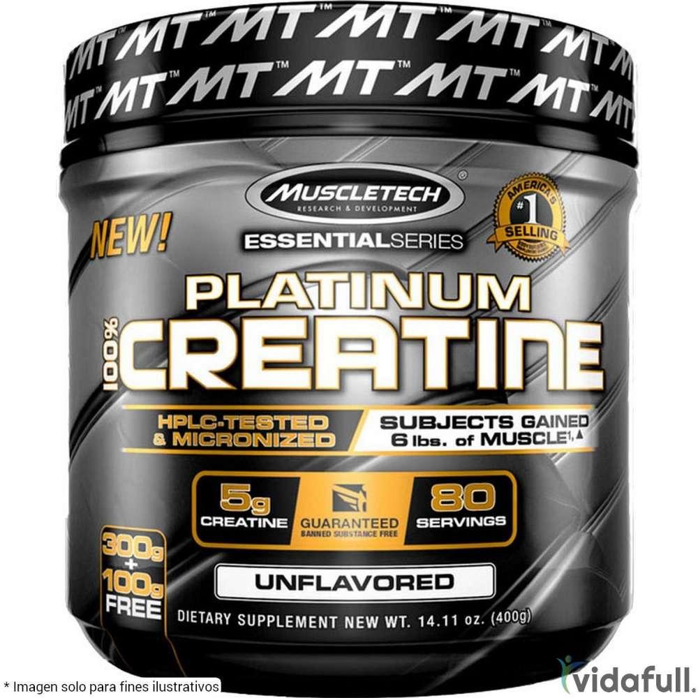 Platinum Creatina Muscletech Creatina de Muscletech Ganar musculo y marcar musculo