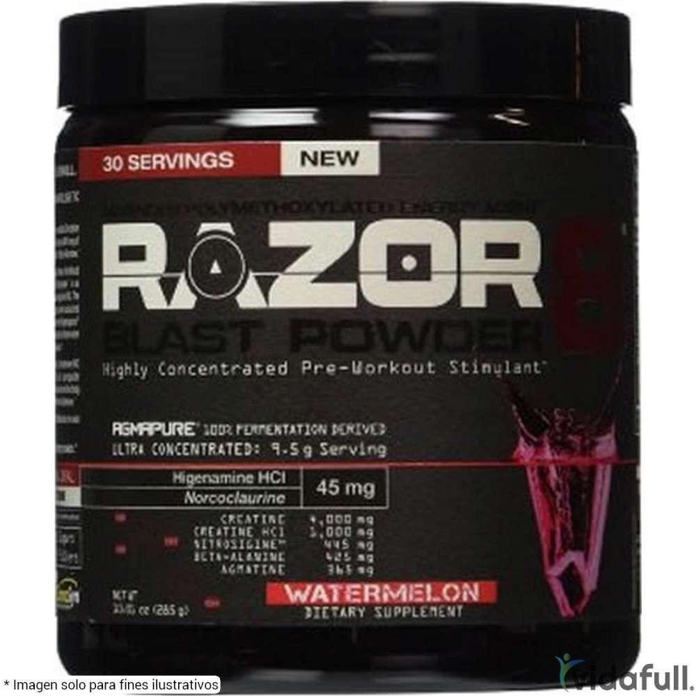 Razor8 Allmax Pre-Entrenamiento de Allmax Nutrition Bajar de Peso Bien