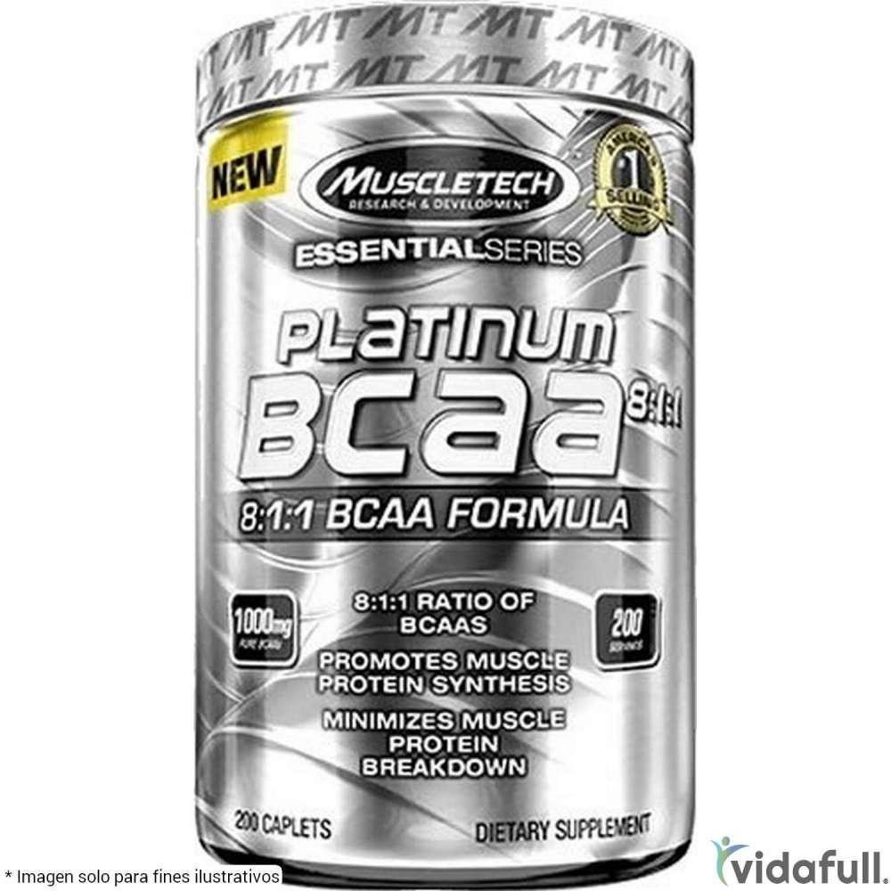Platinum BCAA 8:1:1 Muscletech Aminoácidos de Muscletech Bajar de Peso Bien