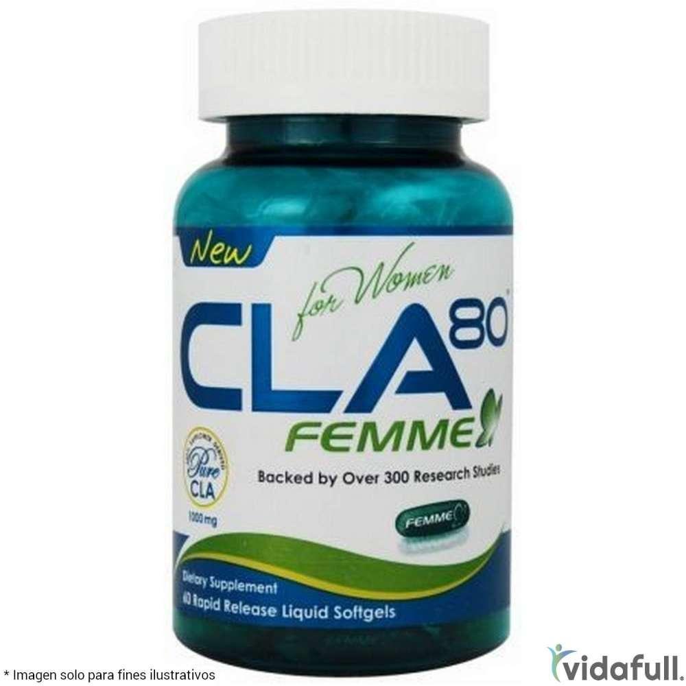 CLA 80 Femme Allmax Ácidos Grasos de Allmax Nutrition Bajar de Peso Bien
