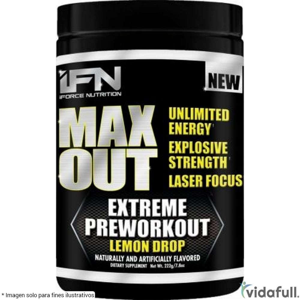 Max Out Iforce Pre-Entrenamiento de IForce Nutrition Bajar de Peso Bien