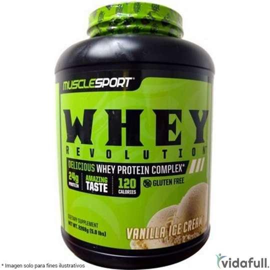 Whey Revolution MuscleSport Proteína de Muscle Sport Ganar musculo y marcar musculo