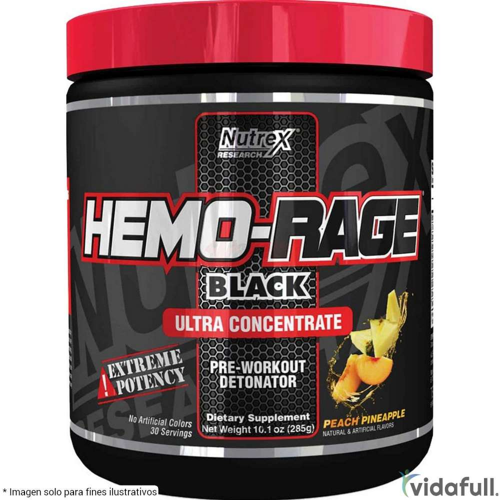 HEMO RAGE Black Ultra Concentrado Nutrex Pre-Entrenamiento de Nutrex Bajar de Peso Bien