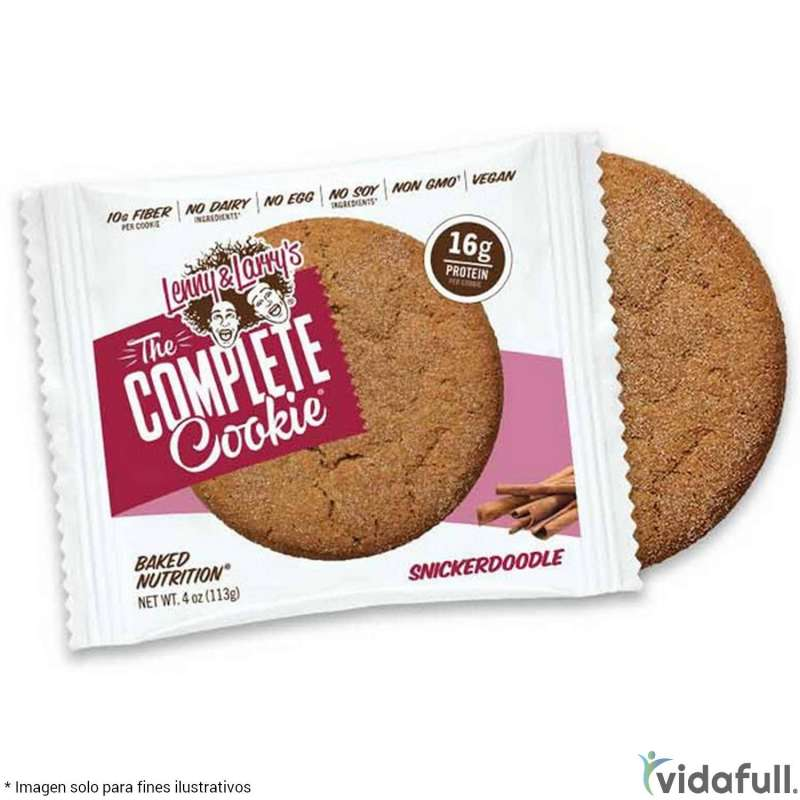 The Complete Cookie Lenny y Larry Canela