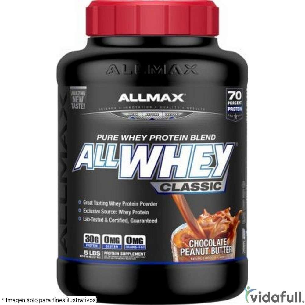 AllWhey Classic Allmax Proteína de Allmax Nutrition Ganar musculo y marcar musculo