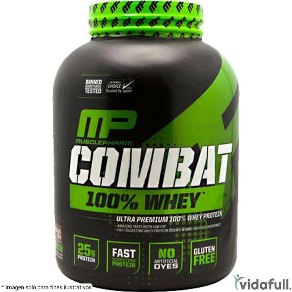 Combat 100% Whey MusclePharm Proteína de MusclePharm Bajar de Peso Bien