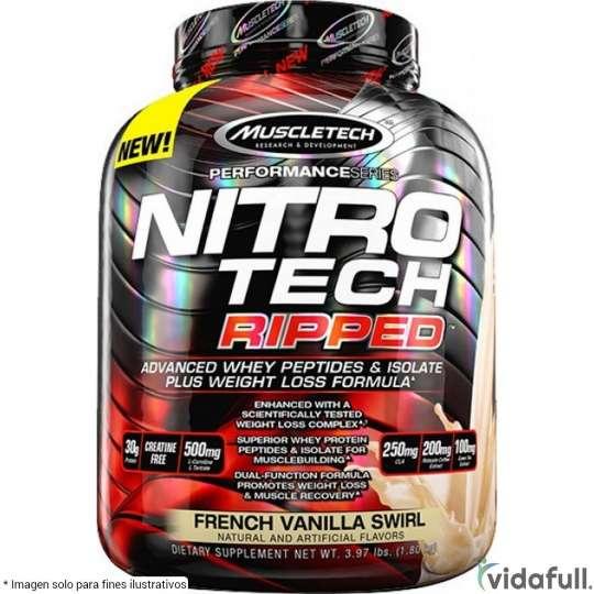 Nitro Tech Ripped Muscletech Proteína de Muscletech Ganar musculo y marcar musculo