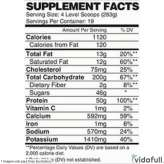 Mass Infusion Nutrex 12 lb facts