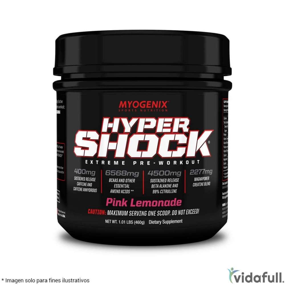 Hypershock Myogenix Pre-Entrenamiento de Myogenix Bajar de Peso Bien