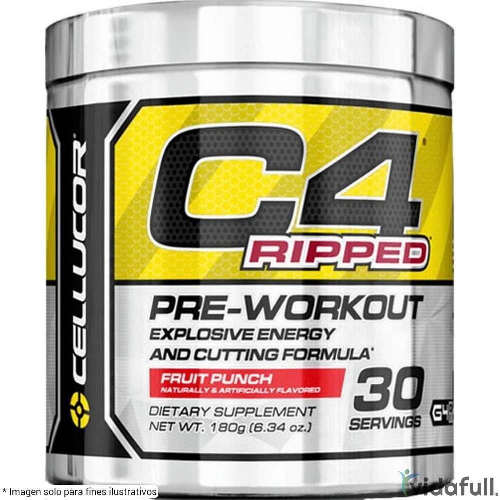 C4 Ripped Cellucor Pre-Entrenamiento de Cellucor Bajar de Peso Bien
