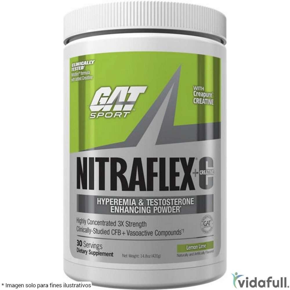 NITRAFLEX+C GAT Pre-Entrenamiento de GAT Bajar de Peso Bien