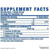 BCAA XS Powder Ronnie Coleman información nutrimental