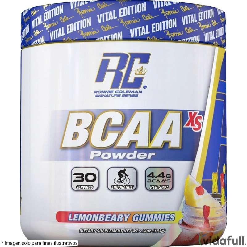 BCAA XS Powder Ronnie Coleman Limón con Moras