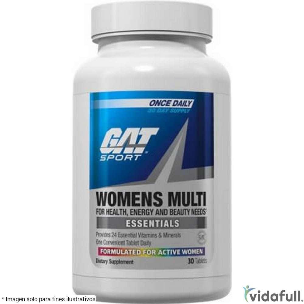 Womens Multi GAT Vitaminas y minerales de GAT Bajar de Peso Bien