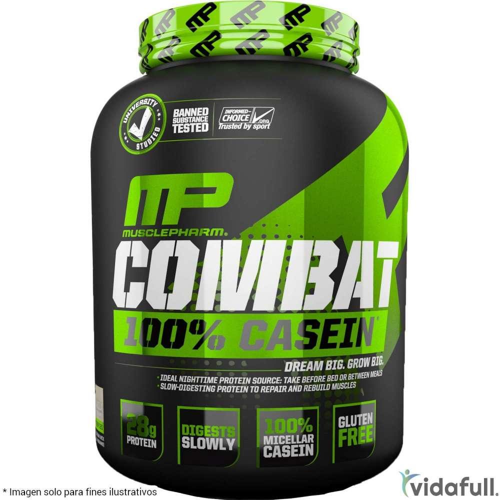 Combat 100% Casein MusclePharm Proteína de MusclePharm Bajar de Peso Bien