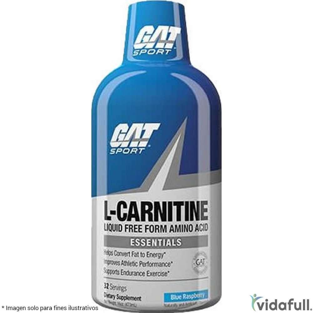 Carnitina Líquida 1500 GAT Carnitina de GAT Bajar de Peso Bien