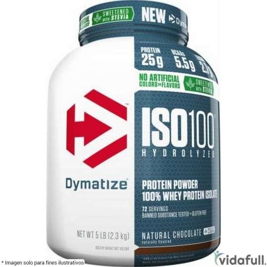 ISO 100 con Stevia Dymatize