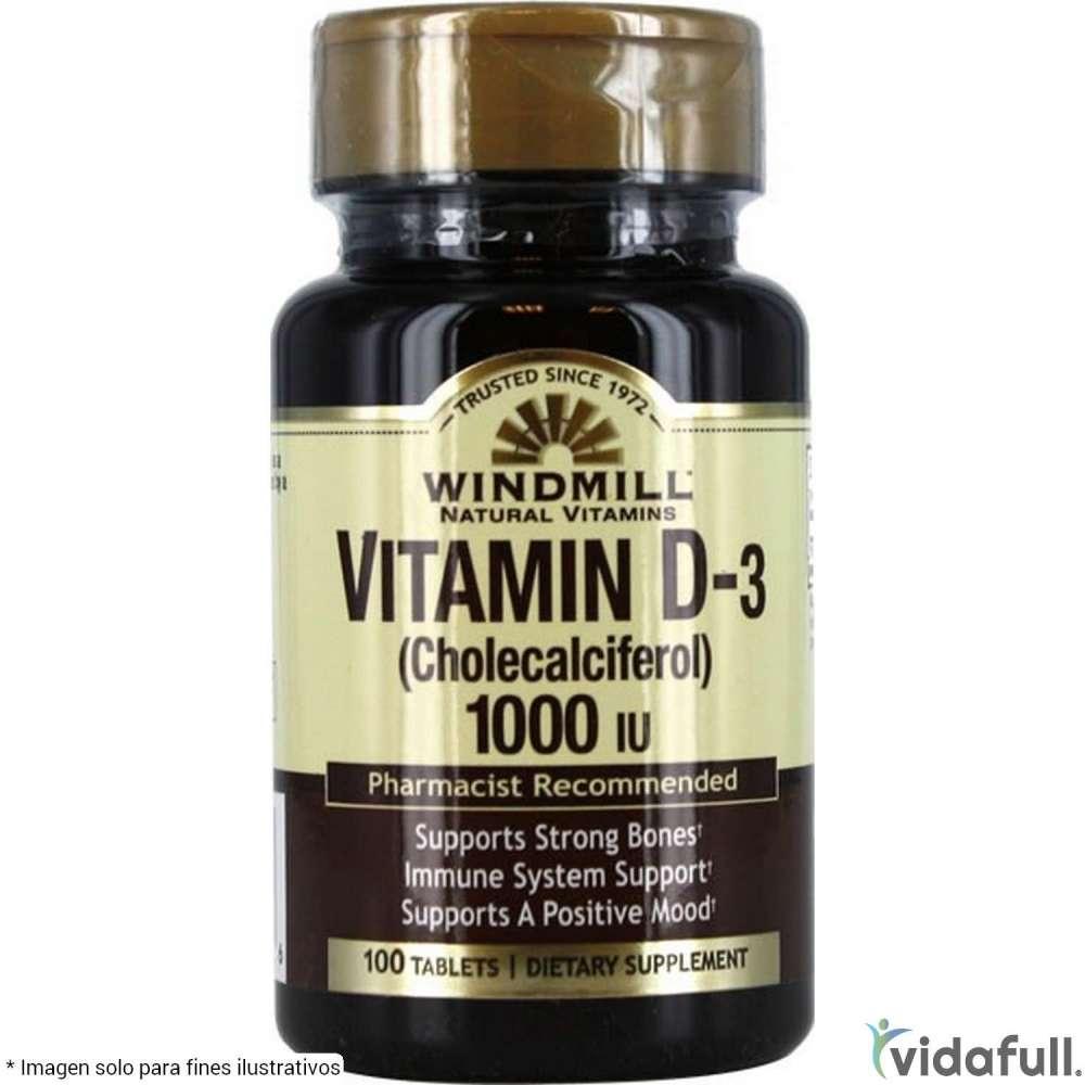 Vitamina D Windmill Vitaminas y minerales de Windmill Bajar de Peso Bien