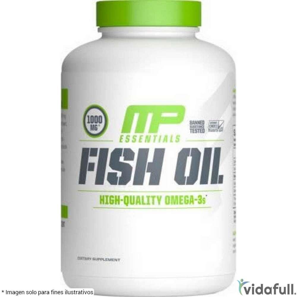 Aceite de pescado MusclePharm Vitaminas y minerales de MusclePharm Bajar de Peso Bien