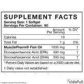 Aceite de pescado MusclePharm