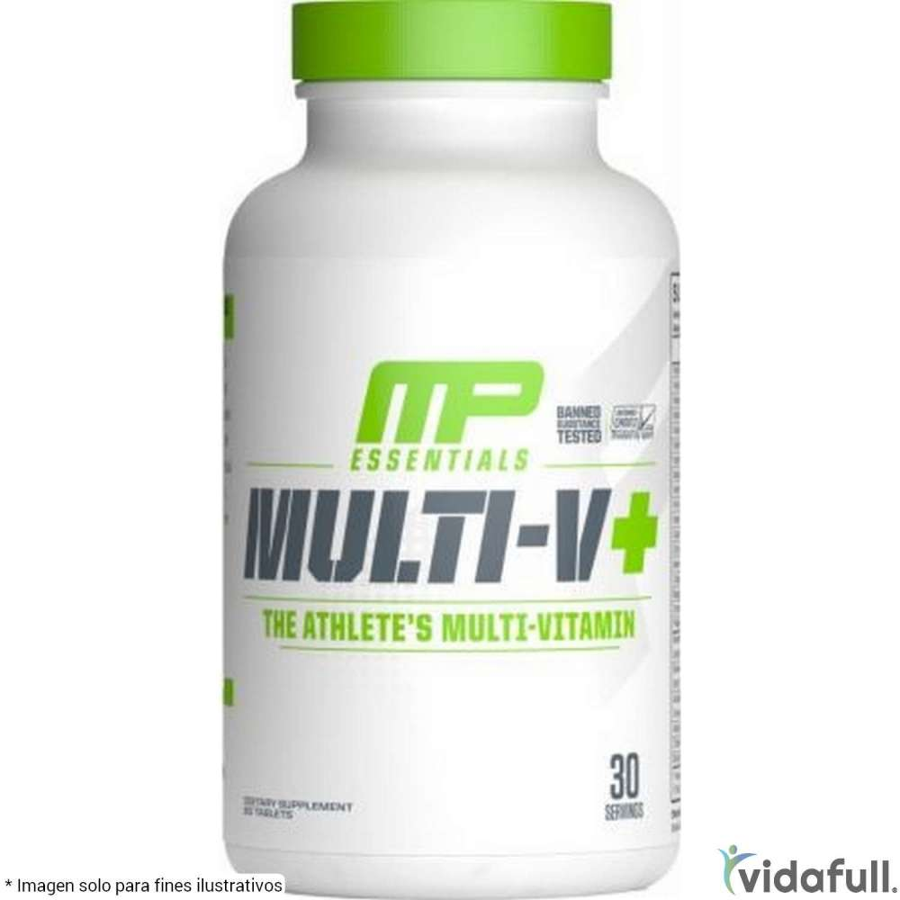 Multi-V Musclepharm Vitaminas y minerales de MusclePharm Bajar de Peso Bien