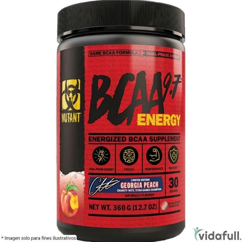 BCAA 9.7 Energy Mutant Durazno