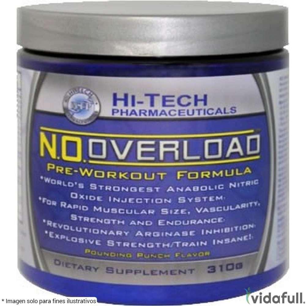 N.O. Overload Hi-Tech Pre-Entrenamiento de Hi-Tech Pharmaceuticals Bajar de Peso Bien