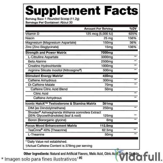 Mr Hyde Test Surge Prosupps facts
