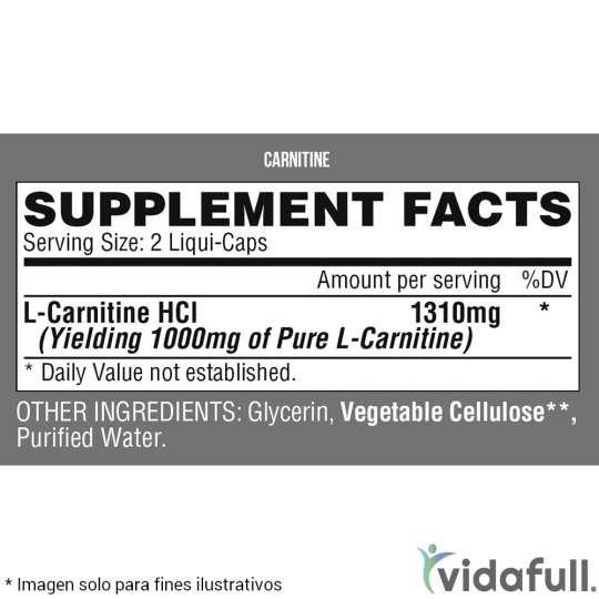 Lipo 6 Carnitina Nutrex