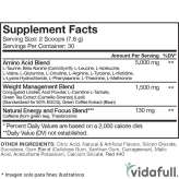 Amino Lean RSP Nutrition facts