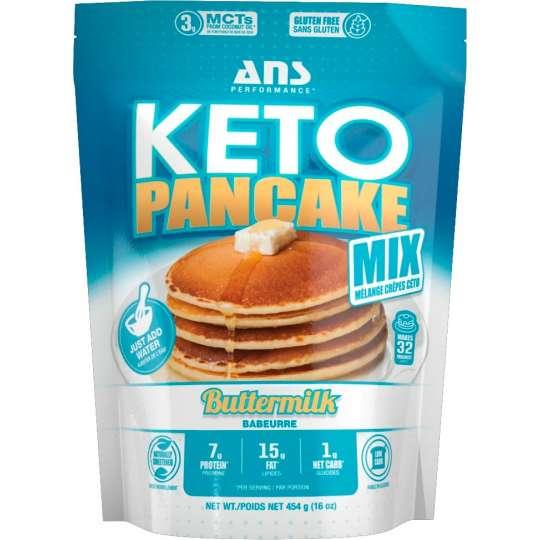 Harina para Hotcakes KETO ANS Performance