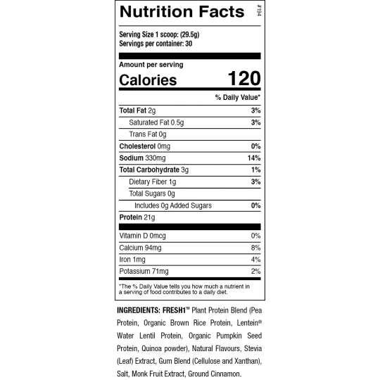 Proteína Vegan FRESH 1 ANS Performance
