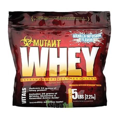 Whey 5 lb Helado de Vainilla Mutant