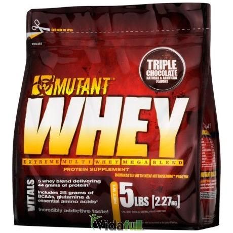 Whey 5 lb Triple Chocolate Mutant