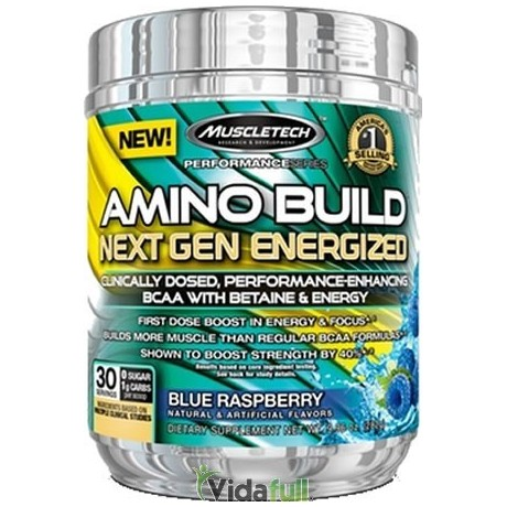 Amino Build Next Gen 30 serv. White Raspberry Muscletech