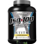 ISO 100 Proteina 5 libras Plátano Dymatize