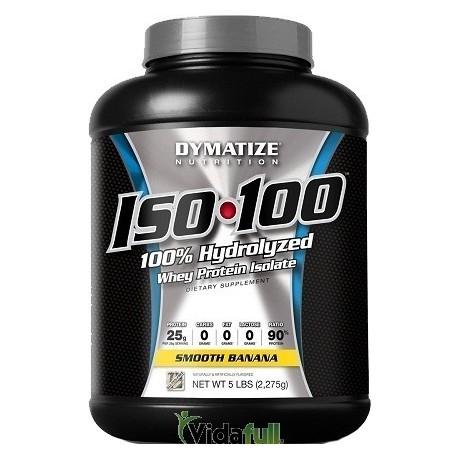 ISO 100 Proteina 5 libras Chocolate Dymatize