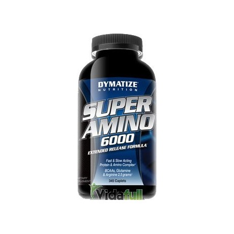 Super Amino 6000 180 cápsulas Dymatize