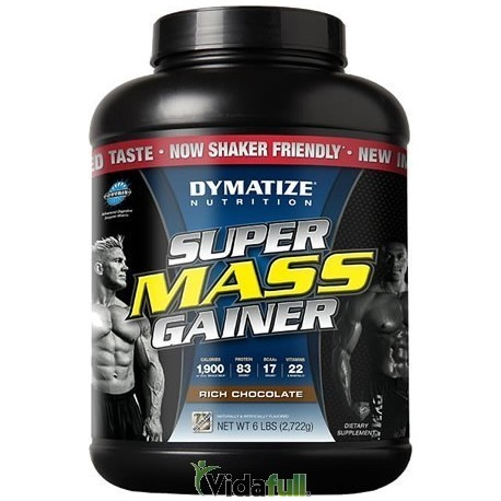 Super Mass Gainer 6 Libras Chocolate