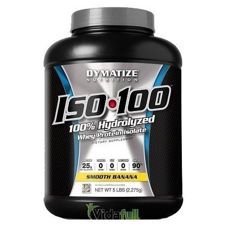 ISO 100 Proteina 5 libras Cinnamon