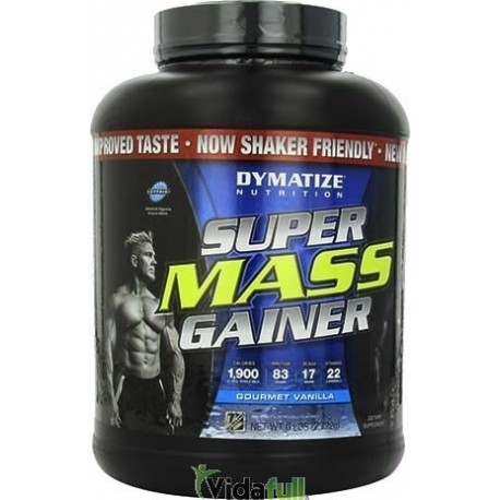 Super Mass Gainer 6 lb Vainilla