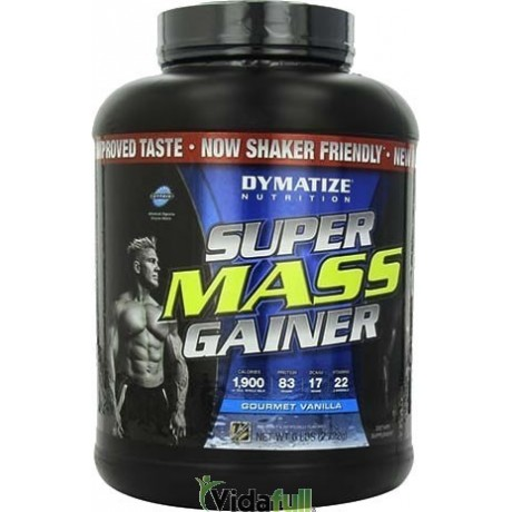 Super Mass Gainer 6 lb Vainilla Dymatize