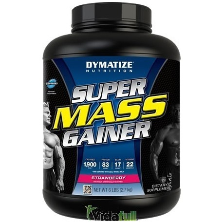 Super Mass Gainer 6 lb Fresa