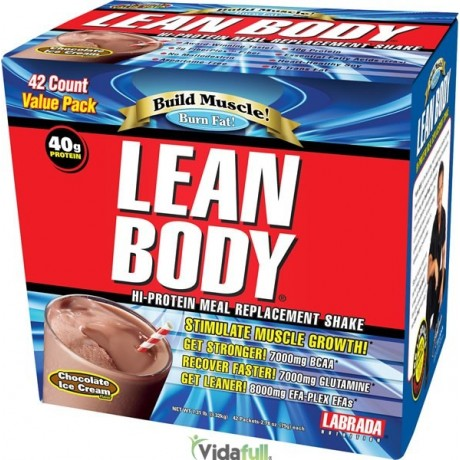 Lean Body 42 Pack Proteina Vainilla Labrada