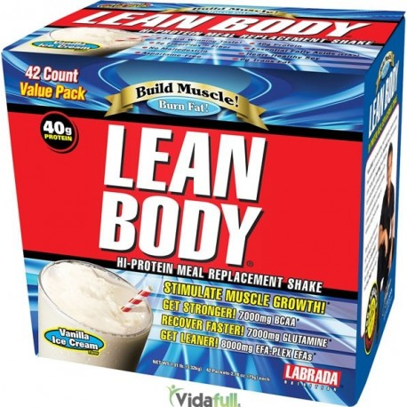 Lean Body 42 Pack Proteina Chocolate